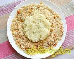 Картофельные зразы с мясом 8 шаг