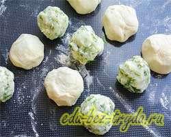 Хычины с картошкой и сыром 7 шаг