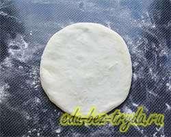 Хычины с картошкой и сыром 11 шаг