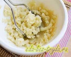 Хычины с картошкой и сыром 5 шаг