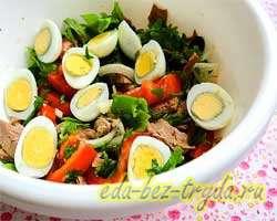Салат с вареной говядиной 8 шаг