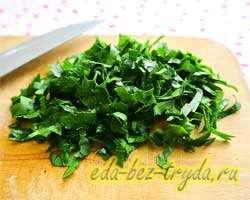 Салат с вареной говядиной 2 шаг