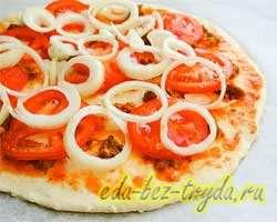 Пикантная пицца 11 шаг