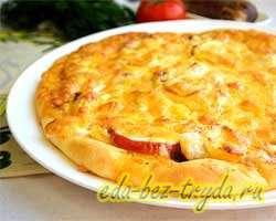 Пикантная пицца 13 шаг