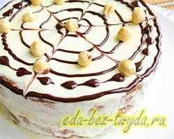 Торт бисквитный 14 шаг