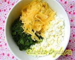 Творожно-сырный пирог 7 шаг