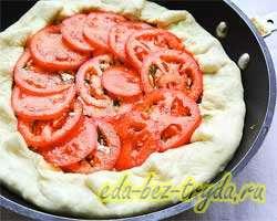 Творожно-сырный пирог 10 шаг