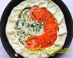 Творожно-сырный пирог 9 шаг