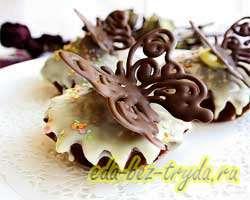 Шоколадные кексы 16 шаг