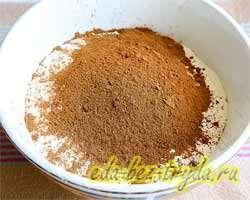 Шоколадные кексы 8 шаг