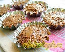 Шоколадные кексы 11 шаг