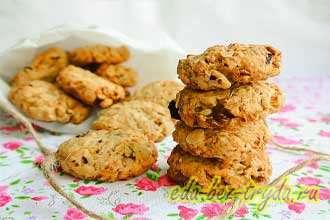 Печенье «5 злаков» с орехами и сухофруктами