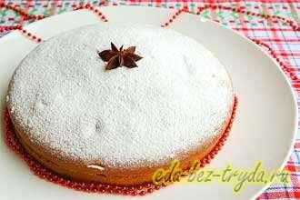 Пирог на простокваше