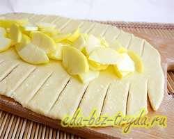 Творожный пирог с яблоками 9 шаг