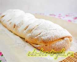 Творожный пирог с яблоками 13 шаг