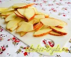 Яблочный пирог из слоеного теста 1 шаг