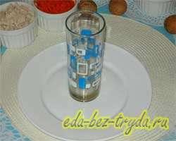 Салат гранатовый браслет с курицей 2 шаг