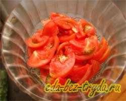 Салат овощной 2 шаг