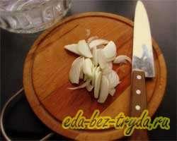 Салат овощной 1 шаг