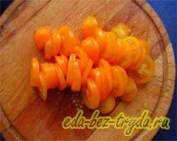 Салат овощной 3 шаг