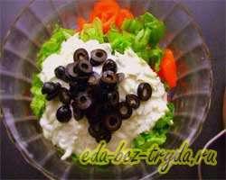 Салат овощной 9 шаг