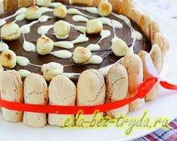 Торт без выпечки 10 шаг