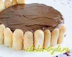 Торт без выпечки 9 шаг