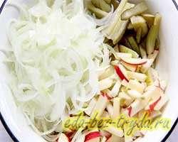 Пражский салат 4 шаг