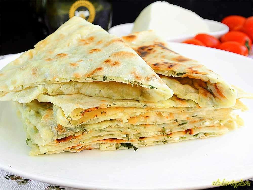 Дагестанские лепешки чуду рецепт с фото