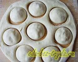 Пирожки с капустой 10 шаг