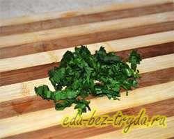 Салат с авокадо и креветками 5 шаг