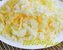 Сырный пирог 1 шаг