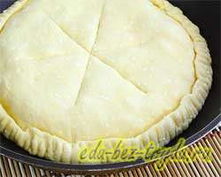 Сырный пирог 6 шаг