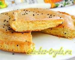 Сырный пирог 10 шаг