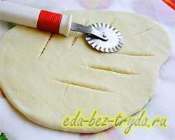 Фугасс французский хлеб 6 шаг