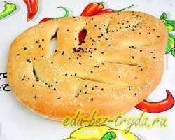 Фугасс французский хлеб 10 шаг