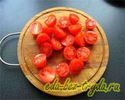 Теплый овощной салат 2 шаг