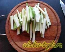 Теплый овощной салат 6 шаг