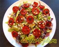 Теплый овощной салат 12 шаг