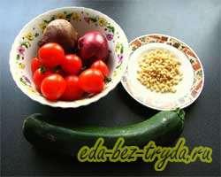 как приготовить Теплый овощной салат