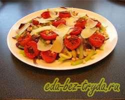 Теплый овощной салат 13 шаг