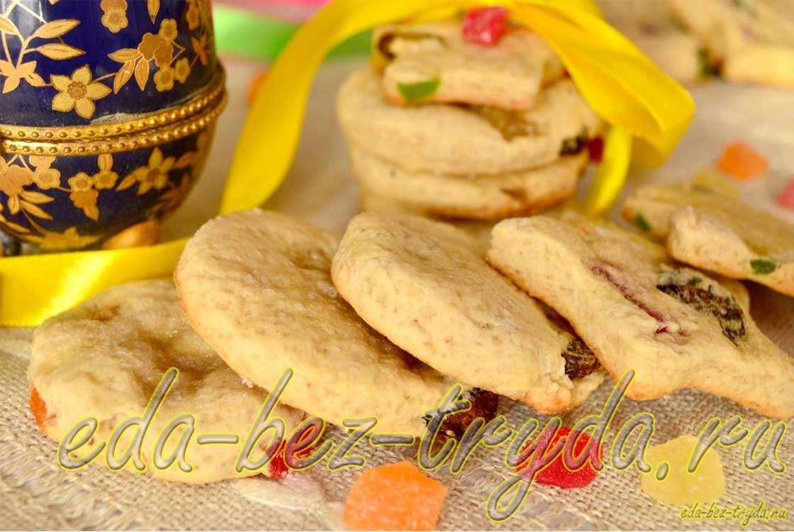 Пасхальное печенье рецепт с фото