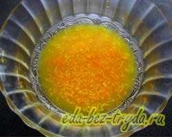 Апельсиновый кекс 3 шаг