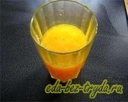 Апельсиновый кекс 2 шаг