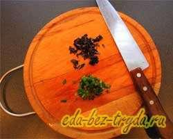 Салат из куриной печени с мандаринами 9 шаг