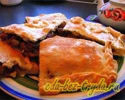 Пирог с говядиной 17 шаг