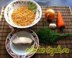 как приготовить Гороховый суп рецепт