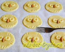 Печенье совы 8 шаг