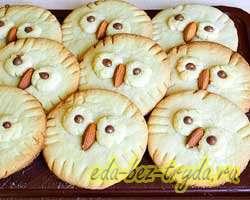 Печенье совы 11 шаг