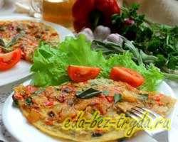 Фриттата с овощами 10 шаг